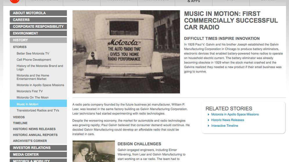 Googles neue Tochter: Acht Jahrzehnte Motorola-Technik