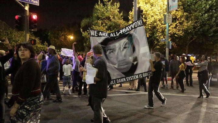 Urteil im Fall Trayvon Martin: Bürgerrechtler verdammen Zimmerman-Freispruch