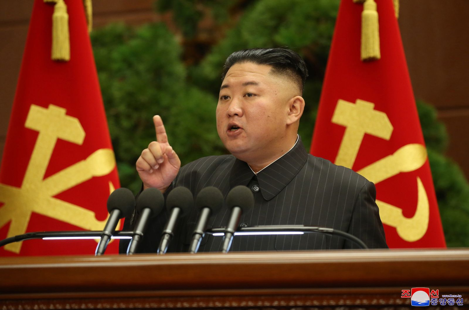 Kim Jong-un reportedly rebukes officials over unspecified pandemic-related incident