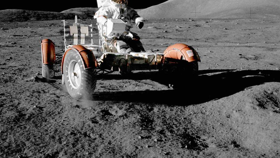 Astronaut Eugene Cernan im Einsatz