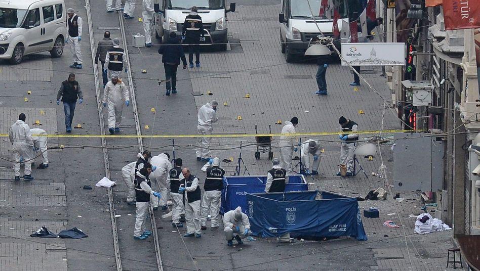 Türkei: Tote und Verwundete beiAnschlagin Istanbul