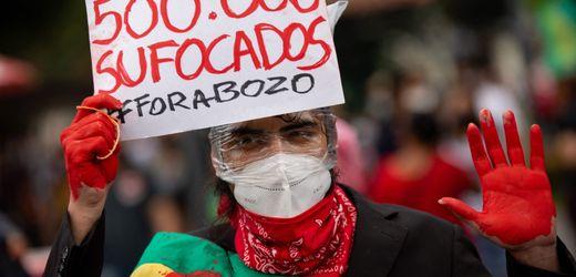 Brasilien: Zehntausende demonstrieren gegen Jair Bolsonaros Corona-Politik