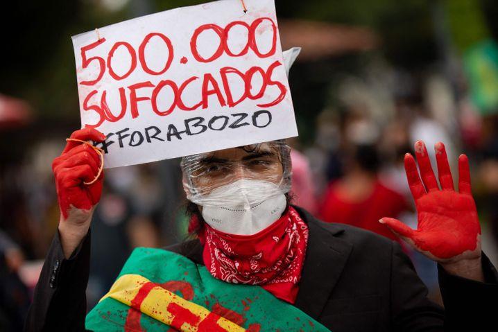 Demonstration gegen Bolsonaros Coronapolitik in Manaus: »500.000 Erstickte«
