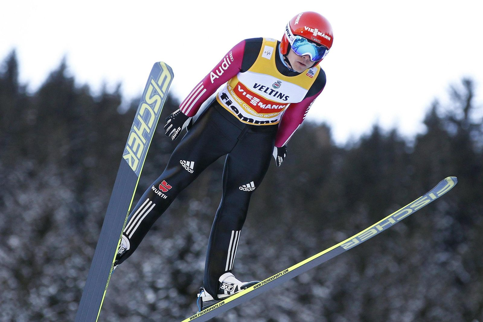 Nordic Combined World Cup in Val di Fiemme