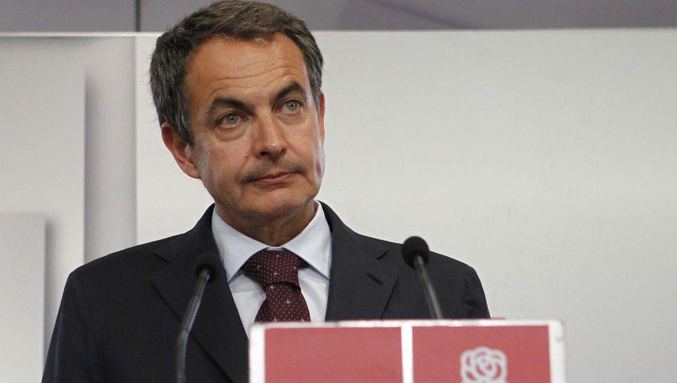 Spaniens Premier Zapatero: Wahlpleite auch in den Sozialisten-Hochburgen