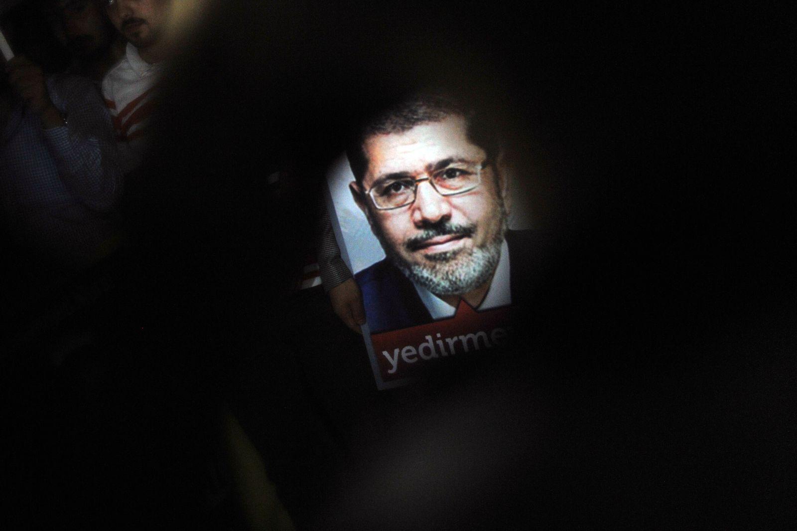 Mohammed Mursi Ägypten Plakat