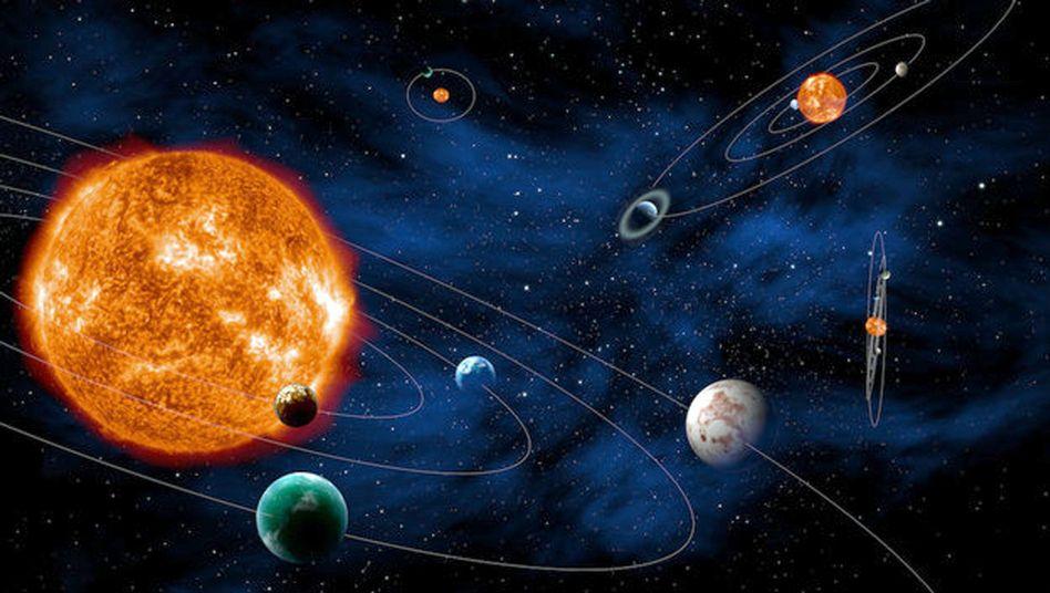 Exoplanetare Systeme (künstlerische Darstellung): Namen gesucht