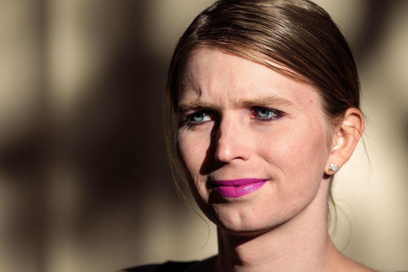 EINMALIGE VERWENDUNG Chelsea Manning