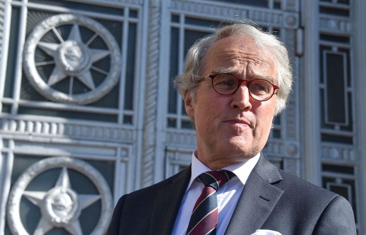 Deutscher Botschafter Rüdiger von Fritsch