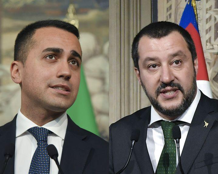 Di Maio und Salvini