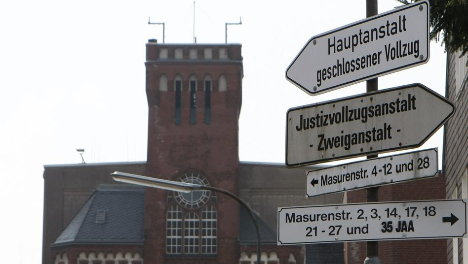 Remscheid prison, where the incident occurred on Sunday.
