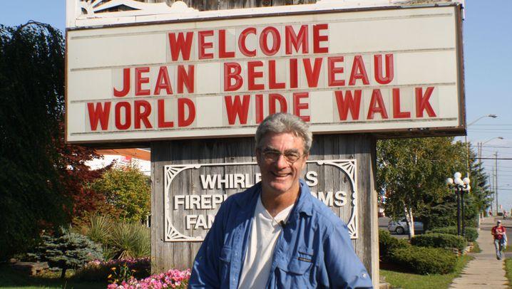 Jean Béliveau: Zu Fuß um die Welt