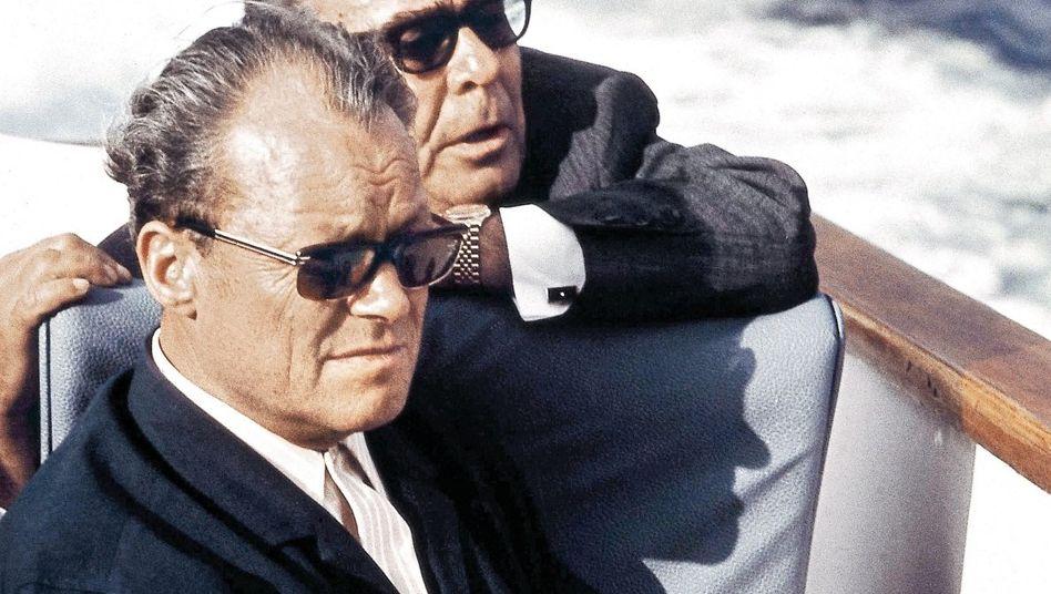 Politiker Brandt, Breschnew 1971 vor der Krim: Politisches Erfolgsmodell