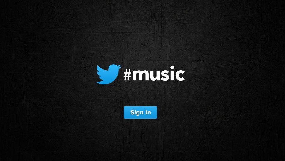 Twitter-Musikseite: Bald auch mit tönenden Tweets?