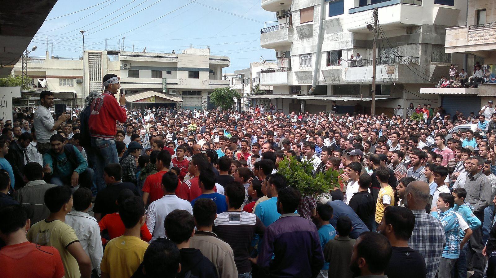 Syrien Proteste Samstag