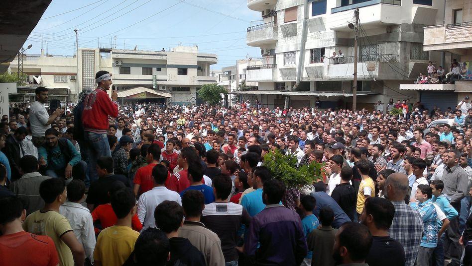 Proteste in Syrien: Allein am Freitag soll es mehr als 60 Tote gegeben haben