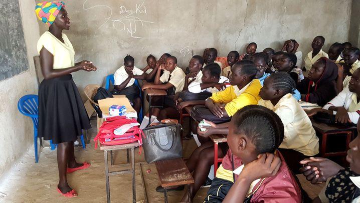 Südsudan: Sexualkunde statt Laufsteg