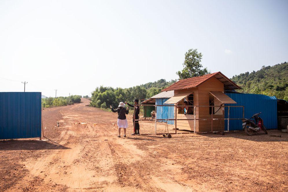 Wachhaus in Koh Kong