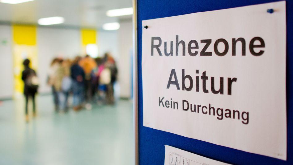 Abiturprüfung an einer Schule in Niedersachsen (Archiv)