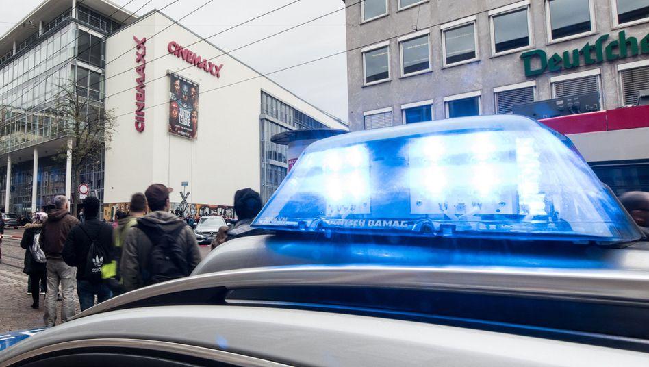 Polizeiauto in Freiburg