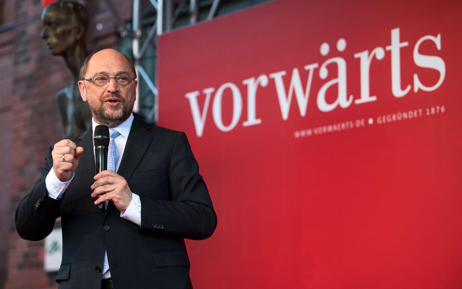 """Fest der SPD-Zeitschrift """"Vorwärts"""""""