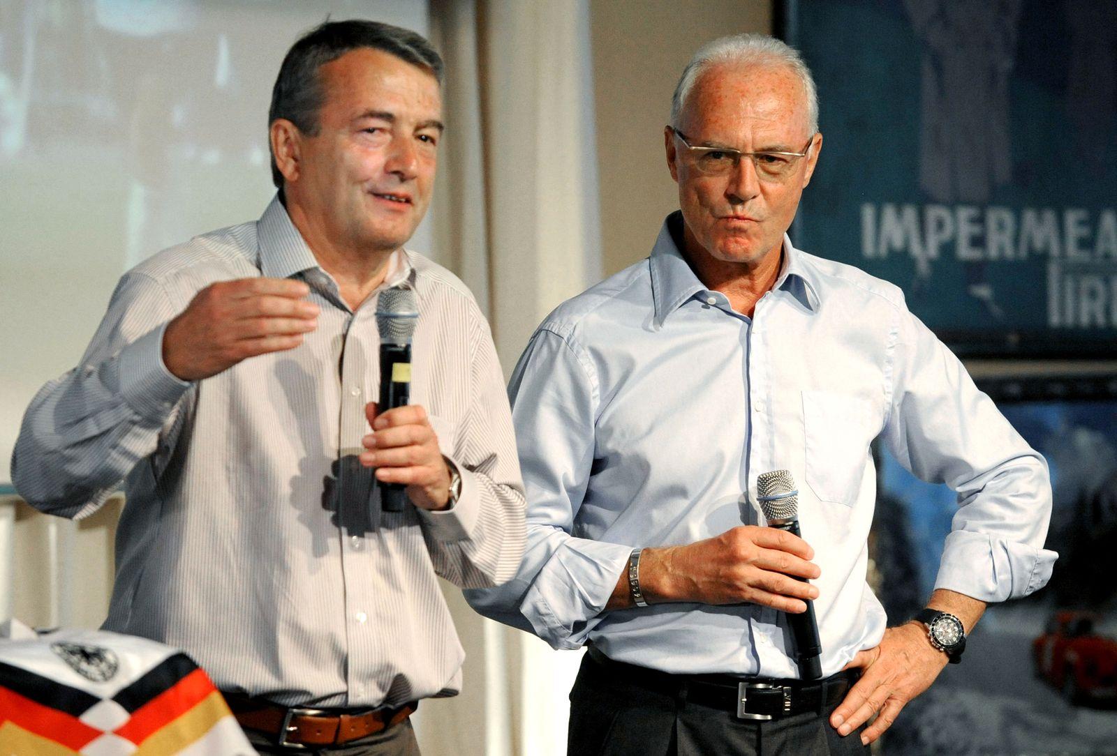 Wolfgang Niersbach / Franz Beckenbauer