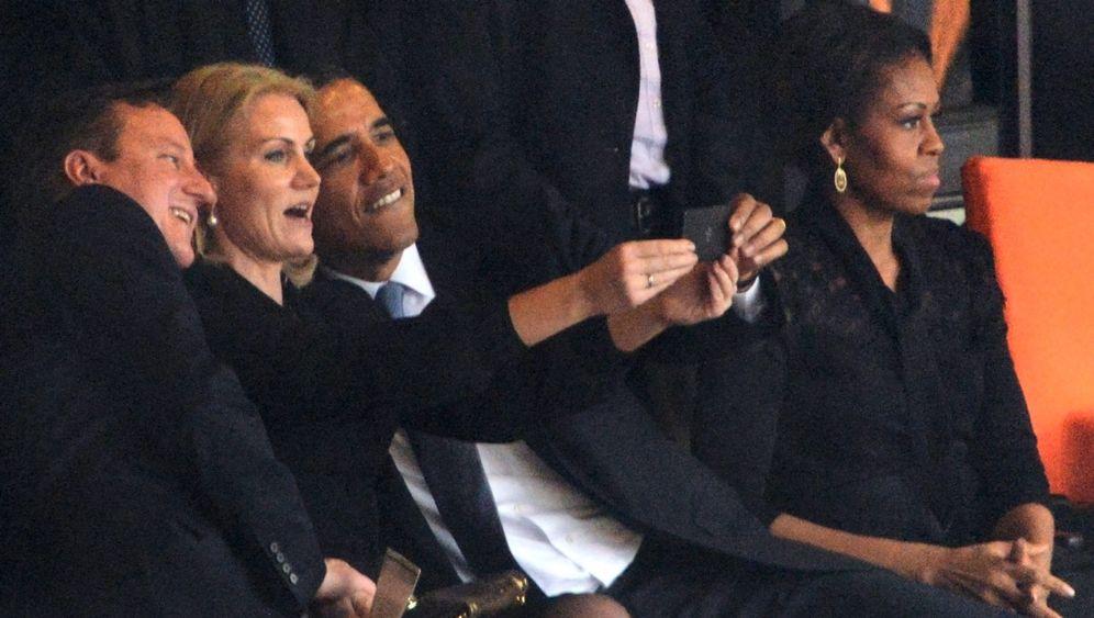 Selfie in Johannesburg: Obamas Schnappschuss