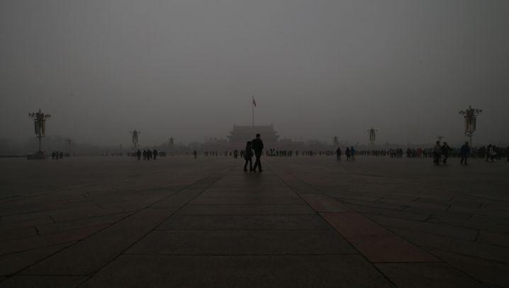China: Das Atmen fällt schwer in Peking