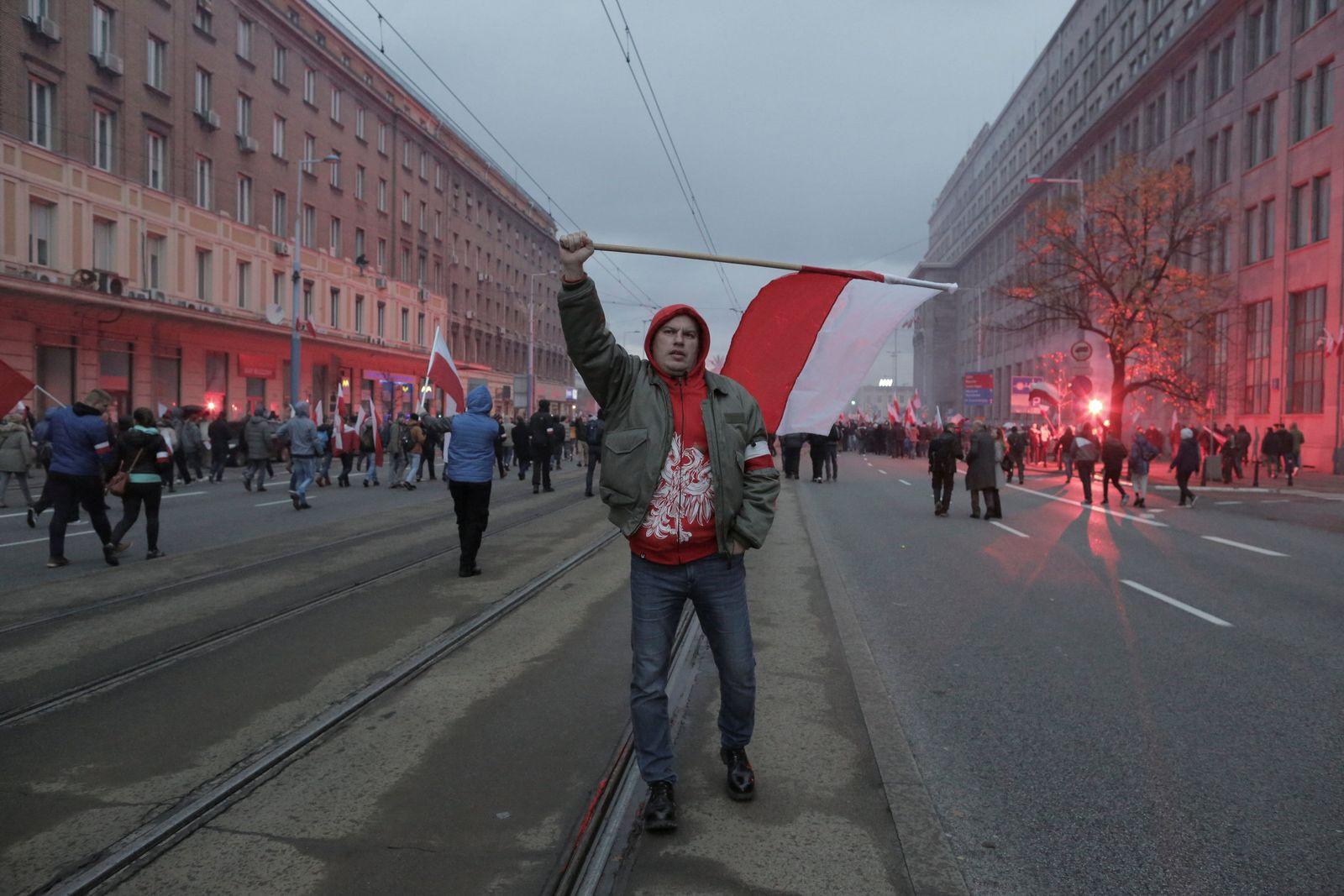Polen / Rechtsextreme / Warschau