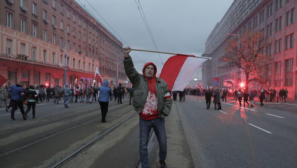 Aufmarsch in Warschau