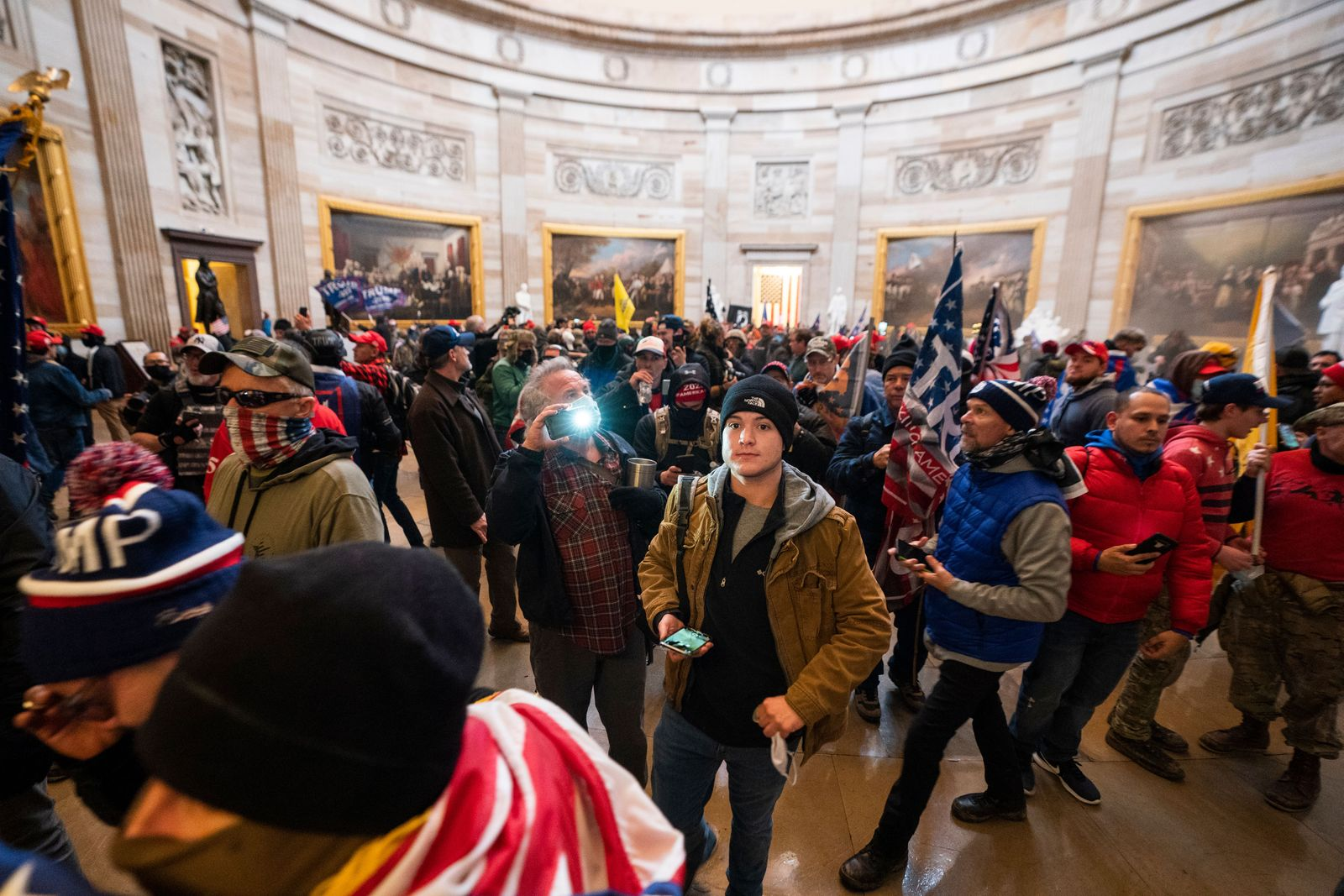 Protestors enter US Capitol, Washington, USA - 06 Jan 2021