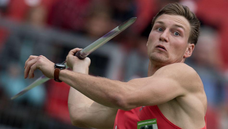 Speerwurf-Olympiasieger Thomas Röhler