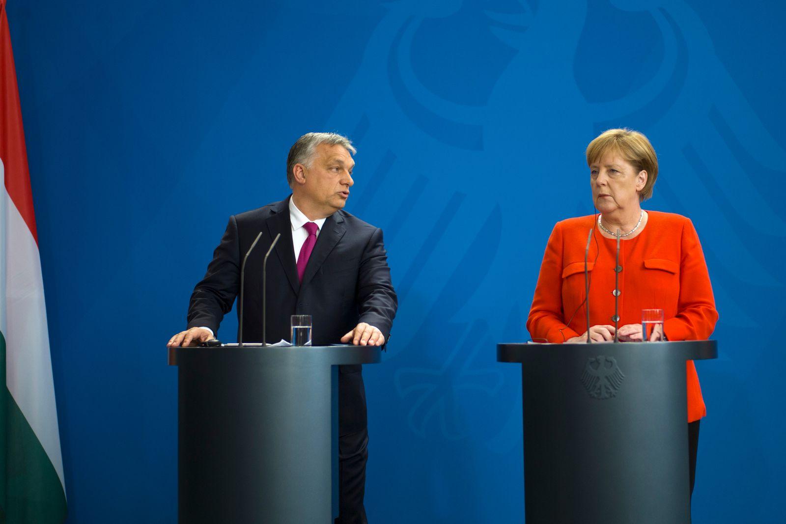 Merkel/ Orban