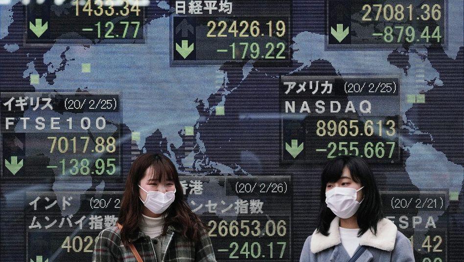 Lange glaubten die Anleger, die Party mit ewig steigenden Kursen könnte auch in Zeiten des Coronavirus weitergehen. Das war ein Irrtum. Seit klar ist, dass sich das Virus auch außerhalb Chinas schnell ausbreitet, hat sich die Stimmung an den Finanzmärkten gedreht. Die Kurse reagieren deutlich – und das könnte erst der Anfang sein.
