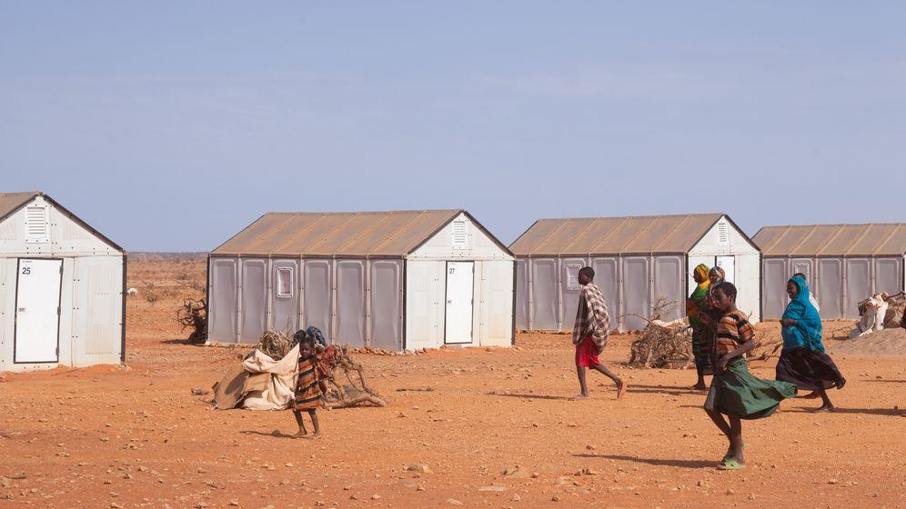 Ikea in Äthiopien: Schwedenhütten im Wüstensand