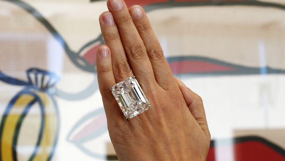 """Versteigerter Diamant: """"Er ist weißer als weiß"""""""