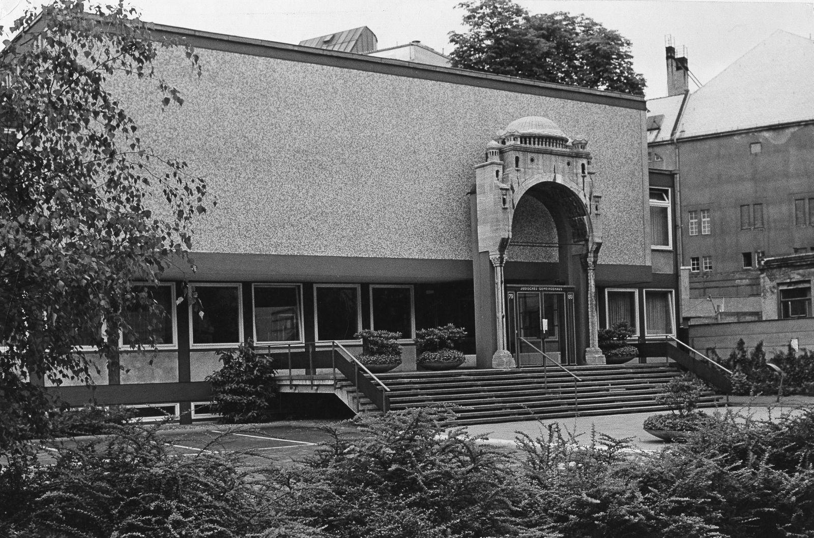 Jüd. Gemeindehaus, Berlin Fasanenstr.