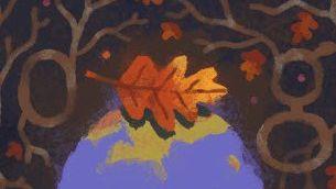 Google-Doodle zum Herbstanfang: Die Tage werden kürzer, das Wetter feuchter