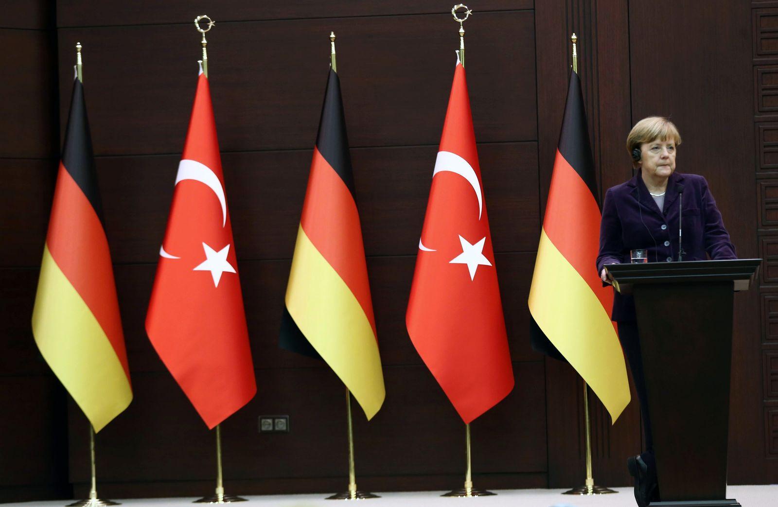 Türkei/ Flüchtlinge/ Merkel