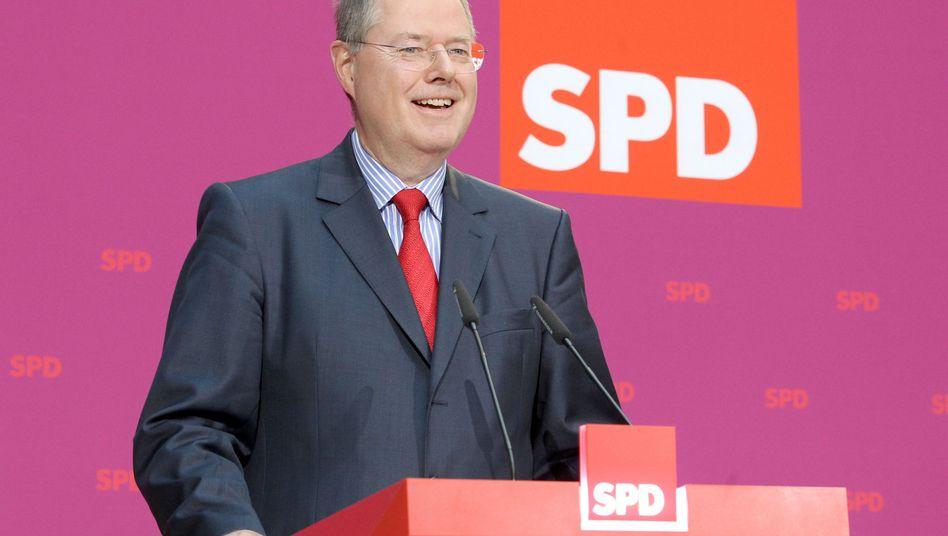 Steinbrück: Die meisten Deutschen halten ihn für einen guten Kandidaten