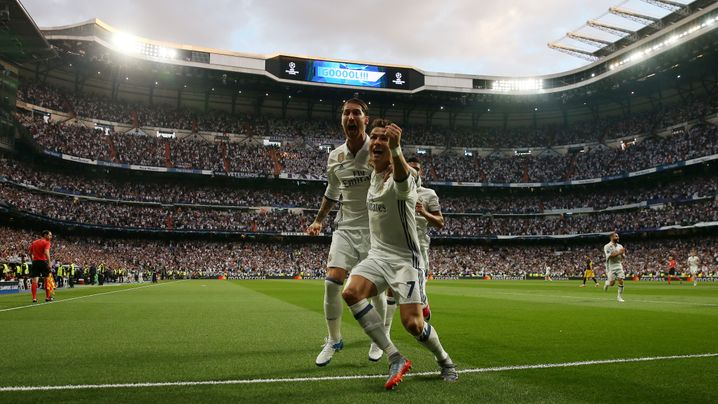 Champions League: Ronaldo 3, Atlético 0