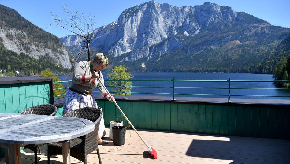 Altaussee in Österreich: Die Tourismusbranche des Landes hofft auf Lockerungen der Reisebestimmungen