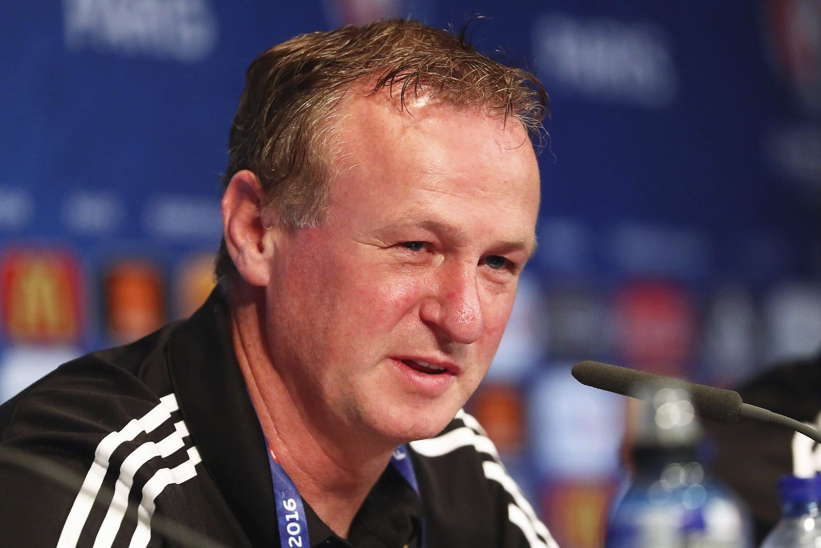 EURO 2016 - Northern Ireland press conference michael oneill