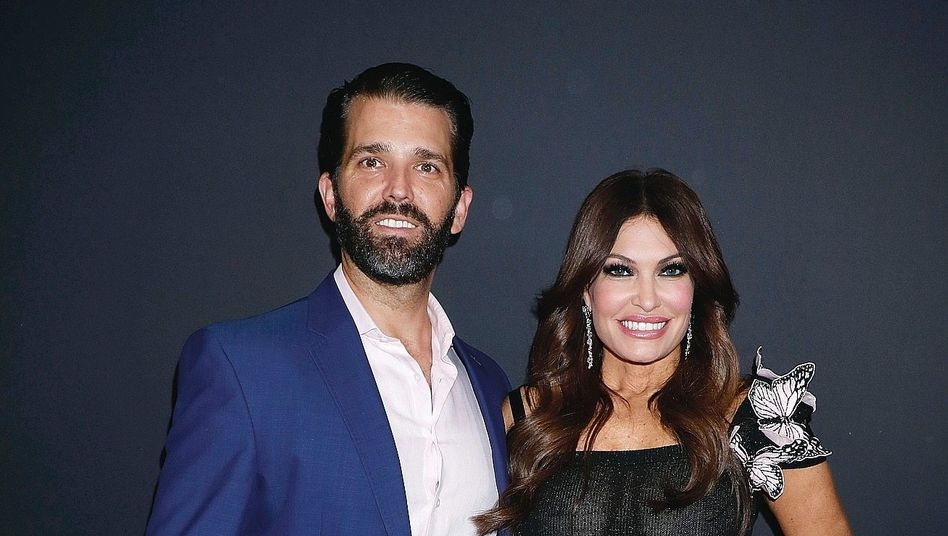 Paar Trump Jr., Guilfoyle