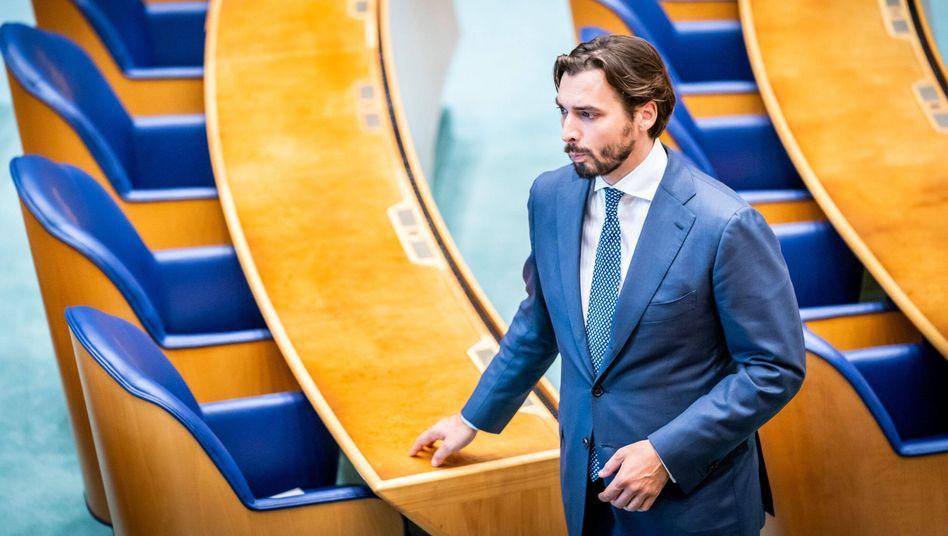 Thierry Baudet wird für das nationalkonservative »Forum für Demokratie« nicht als Spitzenkandidat zur Parlamentswahl antreten