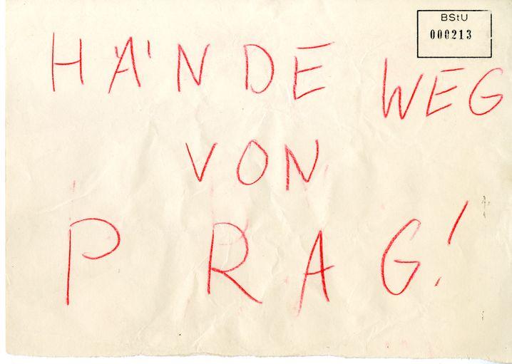 Flugblatt 1968