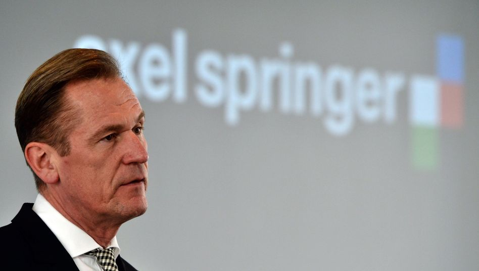 Axel-Springer-Chef Döpfner (Archivbild)
