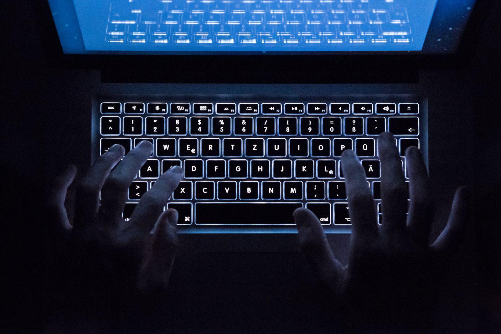 SYMBOLBILD Darknet/ Tastatur