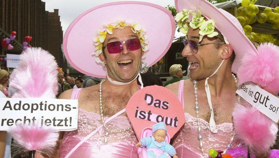 Homo-Ehe: Unionspolitiker wehren sich gegen Adoptionsrecht