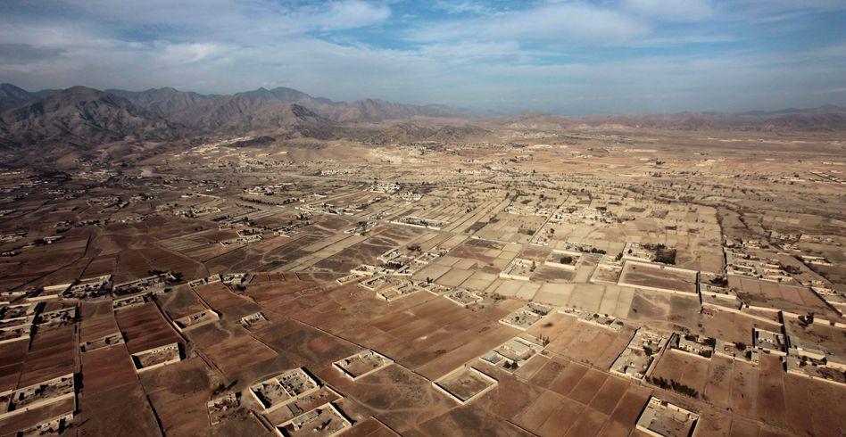 Häuser in der Nähe zweier US-Basen in der Provinz Khost: Anschlag in CIA-Camp